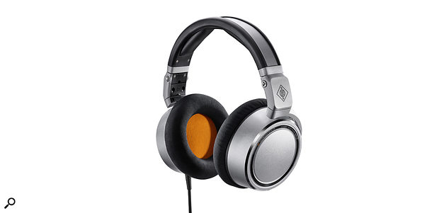 Neumann's first-ever headphones, the NDH20.