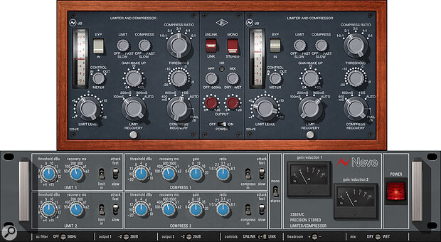 UAD Neve Dynamics Collection.