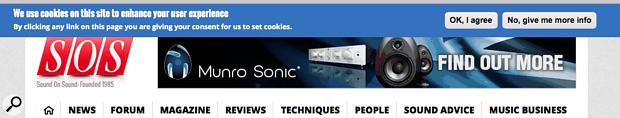 SOS website Cookie agreement panel.