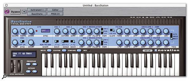 Novation Virtual BassStation