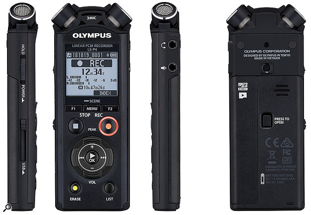 Olympus LS-P4 Stereo Recorder