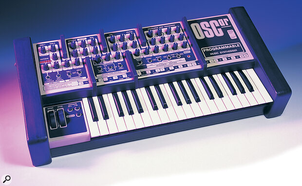 OSCar synthesizer - designed by Chris Huggett