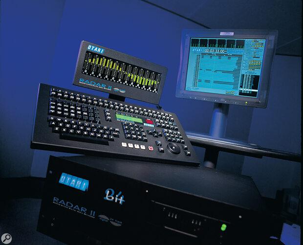 Otari RADAR II 24-bit digital recording system.