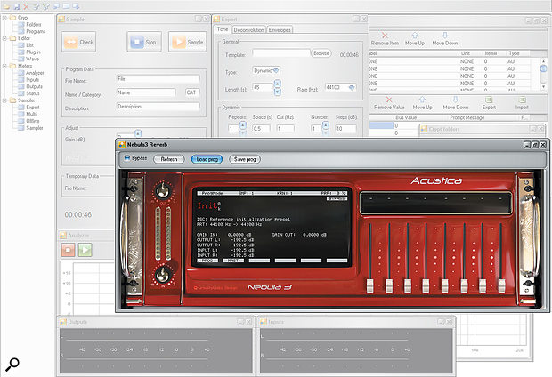 Acustica Audio Nebula convolution plug-in.