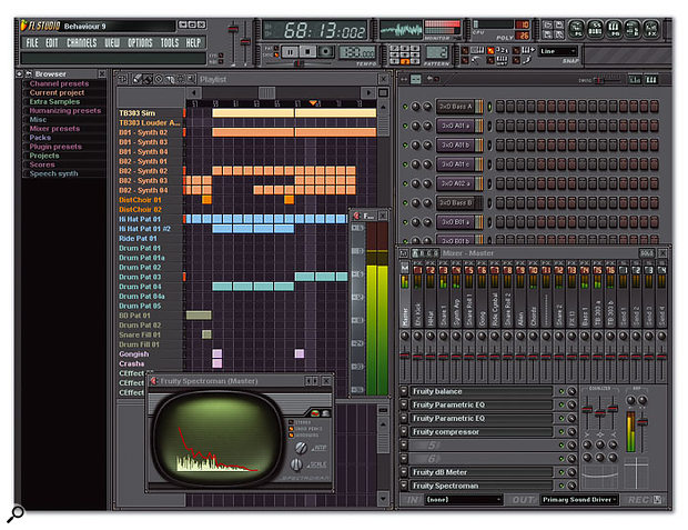 If you're more interested in a pattern-based approach to music making than in traditional recording techniques, take a look at loop products such as FL Studio.
