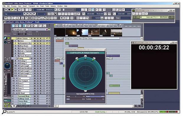 Demo version of SONAR 4 Producer Edition.