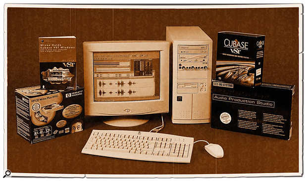 Back in September 2000, this Pentium III 700MHz PC from Millennium Music was capable of running Windows 98SE, Cubase VST 3.7, quite a few plug-ins and a soft synth or two... and a similar vintage PC can still do so today.