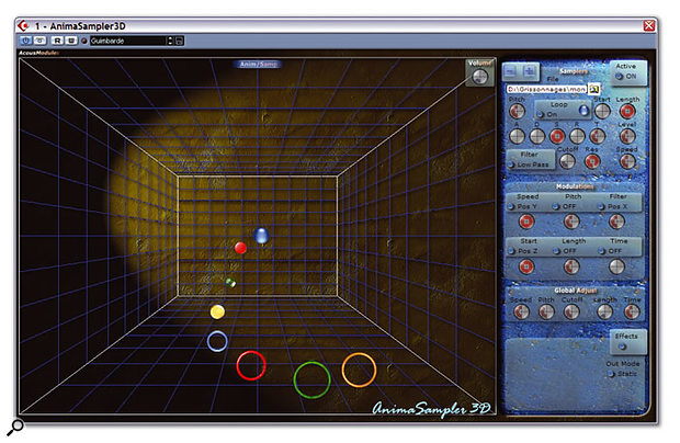 AnimaSampler 3D.