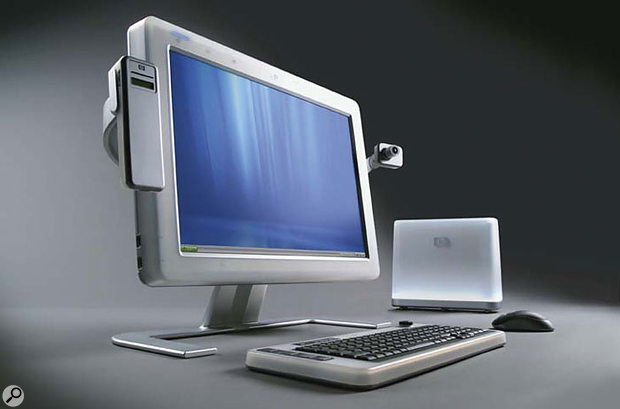 Its wide-screen display may look strangely familiar to Mac users, but the prototype Athens PC shown at WinHEC 2003, and jointly developed by Microsoft and HP, contains quite a few new technologies.