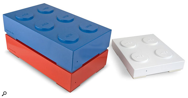 Lacie's new Brick drives may provide you with lots of external USB 2.0 storage potential, but your data won't last long if the kids get hold of them!