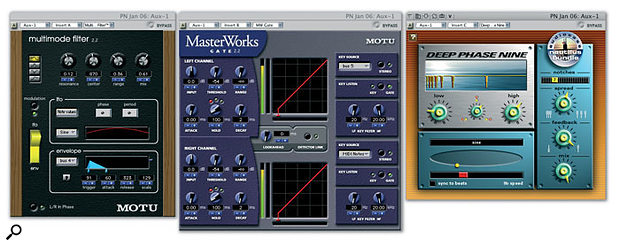 A variety of plug-ins in Digital Performer take on new or enhanced roles when you investigate their audio and MIDI side-chain capabilities, while others are simply more interesting and useful than you might first suspect.