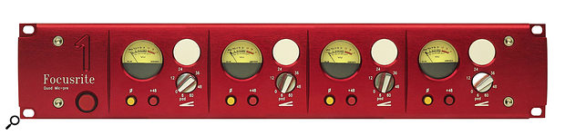 Red 1 mic pre: the first in the range that changed the aesthetics of studio outboard.