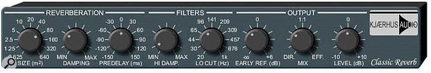 Plug-in Folder: Kjaerhaus Audio plug-in.