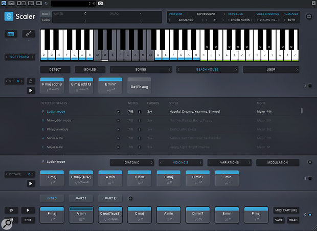 Scaler 2 will look familiar to existing users, but there are lots of new features to be found in the GUI.