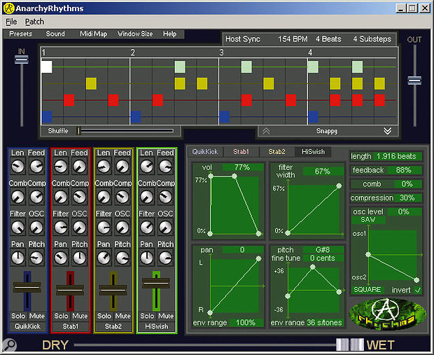 Anarchy Sound Software Anarchy Rhythms