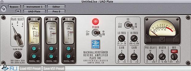 UA Plate 140 plug-in.