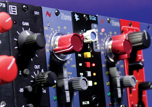Series 500 Preamps.