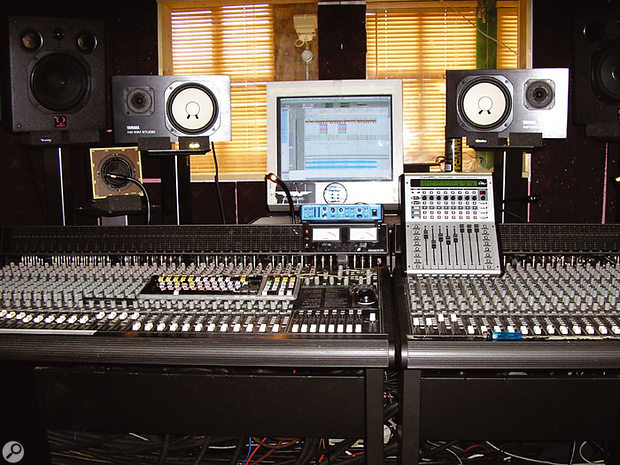 One of Liam Howlett's main reasons for choosing to work at The Mews was its Mackie analogue desk.