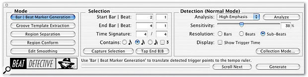 Pro Tools: Using Beat Detective