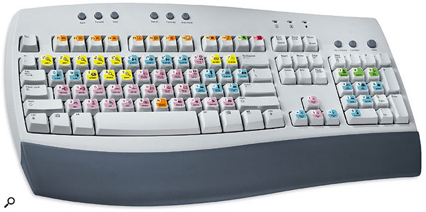 Editor's Keys Pro Tools Keyboard Stickers.