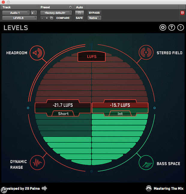 There are now quite a few metering plug-ins that will display Short Term and Integrated Loudness measurements, as well as True Peak values, including this one, Mastering The Mix Levels, and others shown below.