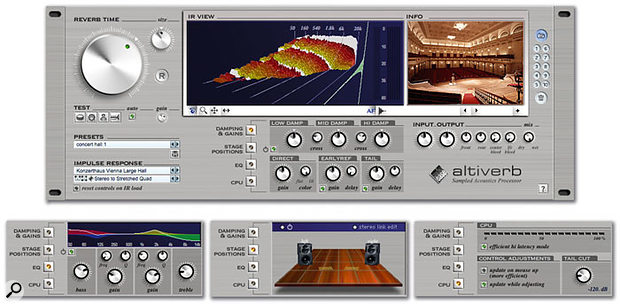 Altiverb convolution reverb.