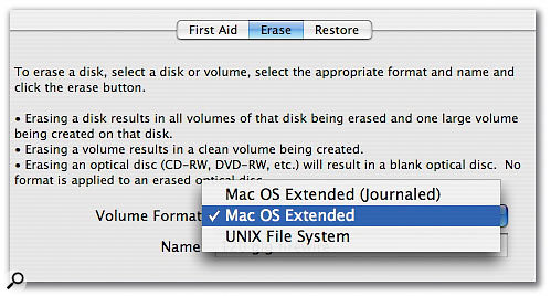 Journaling should be turned off on media drives in OS X.