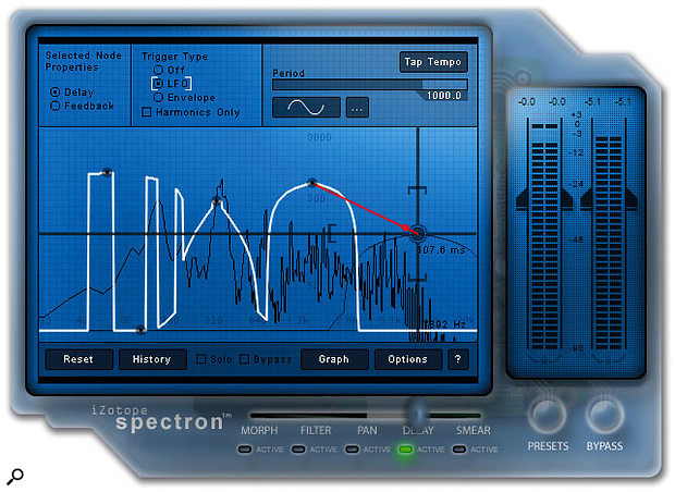 Spectron is a versatile spectral-based effect which separates incoming audio into thousands of frequency bands which can be processed individually.