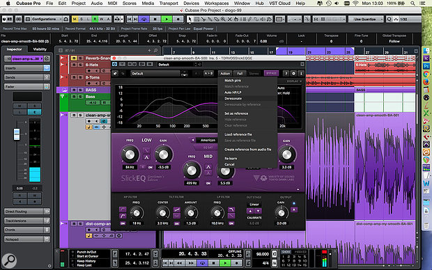 While you really should train your ears and get to know your tools, there are some sophisticated plug-ins, such as Tokyo Dawn's Slick EQ GE, which are able to detect annoying resonances, and make a  pretty good stab at corrective EQ.