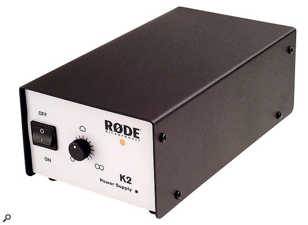 Most valve mics run off their own dedicated external PSU, such as this one for Rode's K2, and these will not care if phantom power is present at the XLR input or not — though it's good practice where possible not to supply it unless needed.
