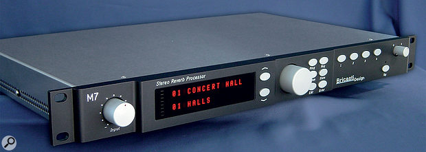 The Bricasti M7 — truly a stereo reverb to drool over! But is a stereo reverb effect always the best option in your mix?