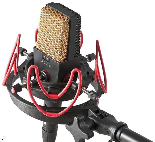 If your mic lacks a shockmount, or came with one of poor quality, it might be worth investing in a  new one, such as the Rycote InVision model pictured here.