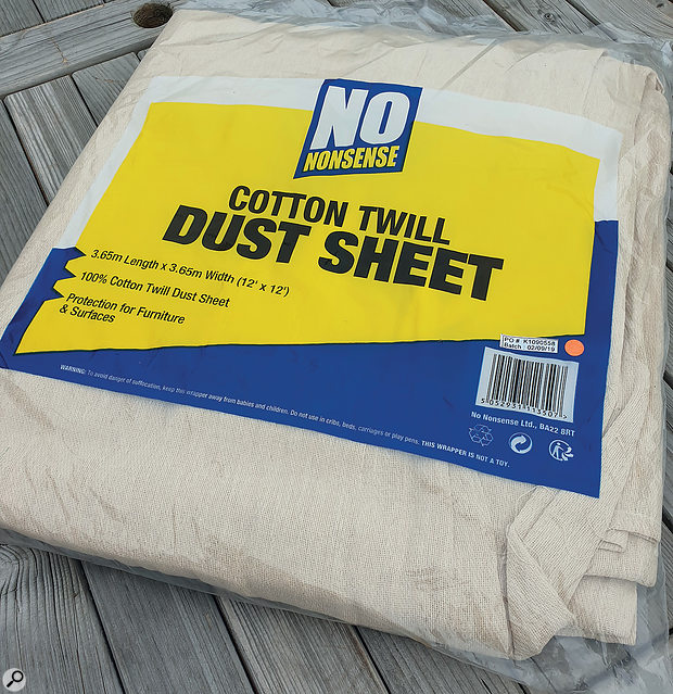 Protecting your gear from dust needn't cost a  fortune.