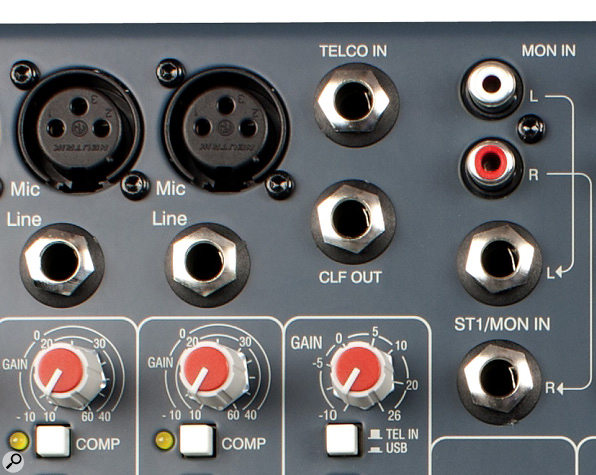 The Allen & Heath XB-10 mixer features a dedicated Telco input and talkback features that are useful for integrating telephone hybrids, as well as a few other broadcast bells and whistles — but the overall sound quality or the preamps and other circuitry is pretty much identical to the ZED-10.