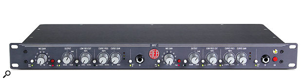 The AEA RPQ2 — an excellent preamp but, given its primary purpose of amplifying ribbon mics, should it have included a  switchable high-pass filter?