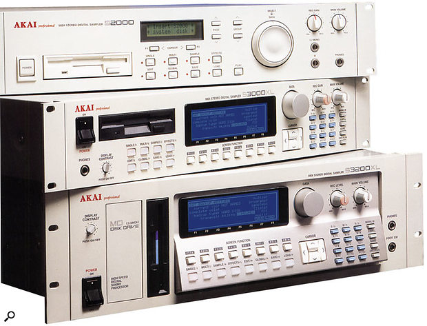 Akai's digital output-equipped sampler range featured a DAT backup and restore function.