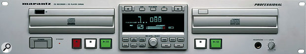 The Marantz CDR500: discontinued because it didn't comply with EU legislation.