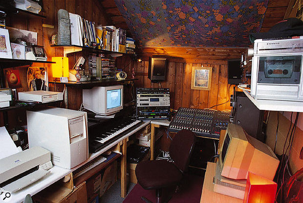 When space is limited, you need to think carefully about how to lay out your studio.