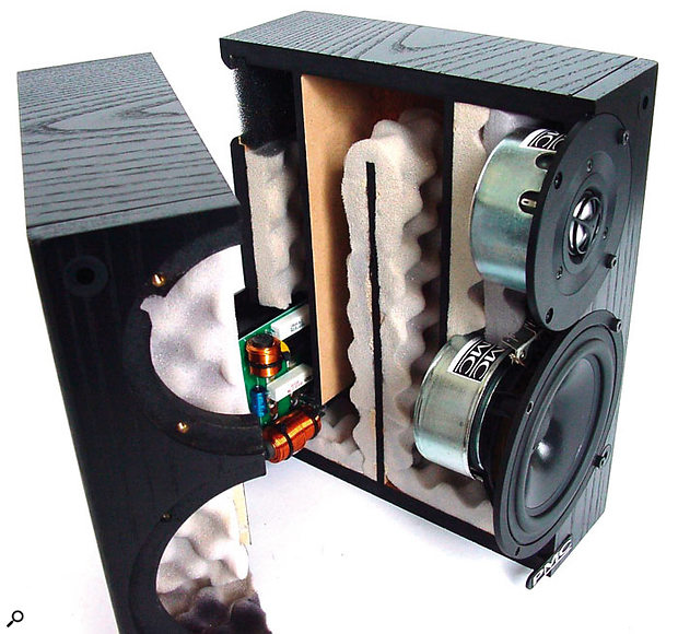 With properly designed and constructed monitors, whether active or passive, you needn't worry about internal vibrations damaging electrical components.