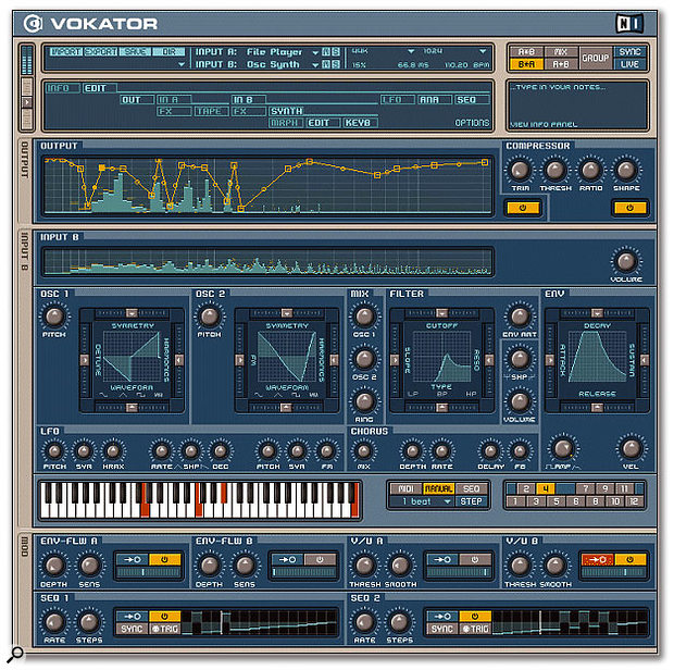 Modern software vocoders like Native Instruments' Vokator are far more sophisticated than their hardware forebears.