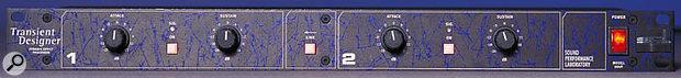 SPL's Transient Designer is a popular tool for tightening up drum tracks.