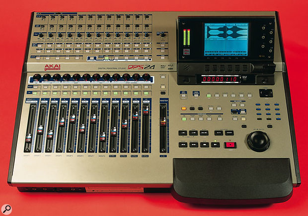 The Akai DPS24's use of mixer groups is grounded in traditional analogue recording and offers great flexibility to the user.