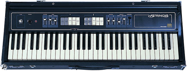 Unlike the first string synths, which had monophonic envelope shapers, the Roland RS202 offered separate envelope articulation for each note.