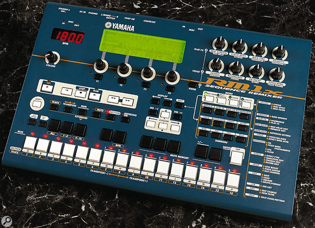 Although it only has one MIDI output, with the addition of a MIDI Thru box the Yamaha RM1X can be used to sequence an entire MIDI studio.