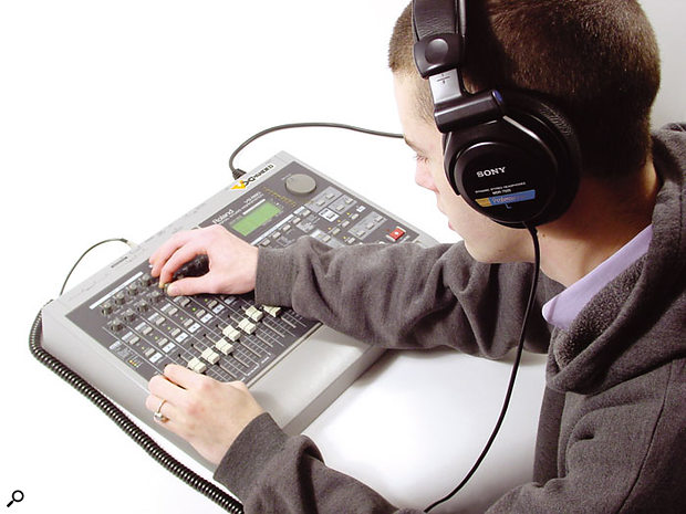 Using headphones while mixing can be useful, but is no replacement for mixing on monitors.