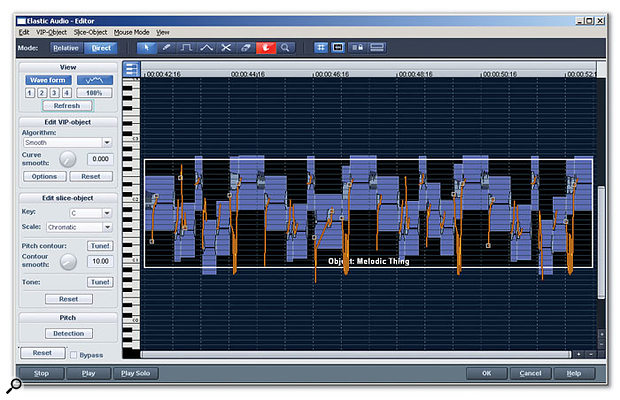 Magix Samplitude offers some unusual and attractive features, like the Elastic Audio editor.