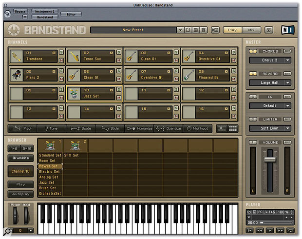 Bandstand is Native Instruments' new software GM synth.