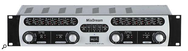 SPL's brand new Mix Dream is designed as an external analogue mix buss for digital systems.