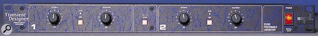 SPL Transient Designer front panel.