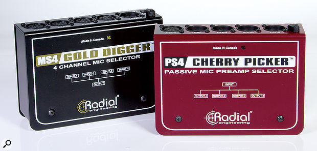 Radial Gold Digger & Cherry Picker.